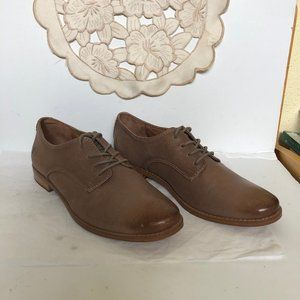 Frye Women's Anna Ash Leather Shoes New